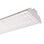 55187 PQL LED 1 X 4 LOUVERED HIGH BAY- 90W/40K- 120-277V/DIMMABLE- SUPERIOR LIFE - DLC
