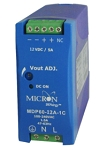 MDP50-12-1 Micron Power Supply 12VDC Secondary SINGLE-PHASE 85-264VAC PRIMARY 50 Watt 4.17 Amp Output