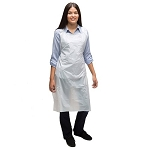 PA1.0 AMMEX Poly Aprons 1.0 mil 400 Aprons/Case