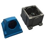 712C7N05 Meltric Poly Angle with Aluminum Wall Box/NPT