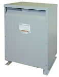 EE75T3HF Square D 3 Phase 75 KVA Ventilated Dry Type Transformer. 480V Primary X 208Y/120V Secondary