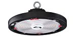 KT-RHLED200PS-14C-8CSB-VDIM-P ROUND LED HIGH BAY FIXTURE UFO, 100W-200W Selectable Power,3000K-5000K Color Selectable, 16,300 - 32,292 lumens, IP65, 0-10V dimming, 6' cord 120-277v