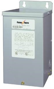 K1XGF16-0.05 Federal Pacific 1 Phase 0.05 KVA BuckBoost Dry Type Transformer. 120x240V Primary X 16/32V Secondary