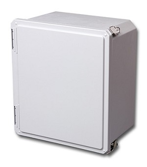 DS161408HPL STAHLIN DIAMONDSHIELD® SERIES – OPAQUE COVER-HINGED AND 2 PULL LATCHES, 6.77 x 6.77 x 4.06