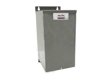 K2XLF24-5 Federal Pacific 1 Phase 5 KVA BuckBoost Dry Type Transformer. 240x480V Primary X 24/48V Secondary